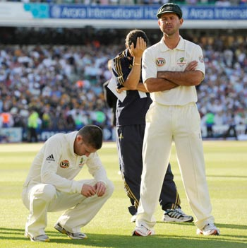 Ponting loses the ashes