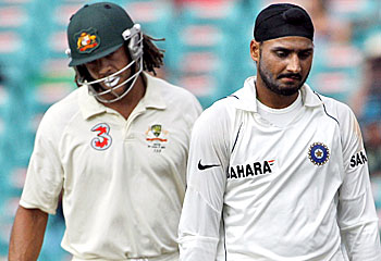Symonds and Harbhajan