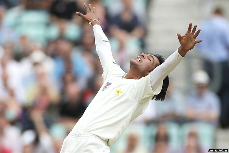 Mohammad Aamer five for at the Oval