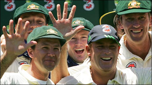 Ashes 100-1_89_Australia win 5-0 in 2007