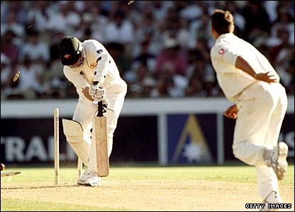 Darrenn Gough hat-trick at Sydney 99
