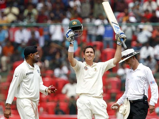 Marcus North saves his bacon and his Ashes spot with a hundred at bangalore in the second test