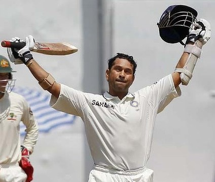 Sachin Tendulkar hits another hundred against Australia in Bangalore