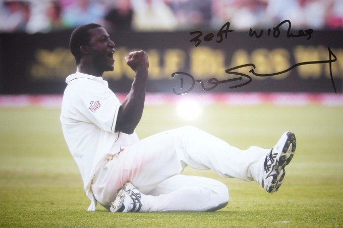 Darren Sammy - the most optimistic test captain ever