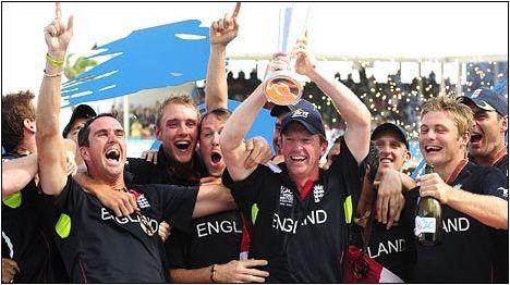 England WT20 champions