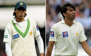 Aamer and Asif - don't hang them out to dry yet