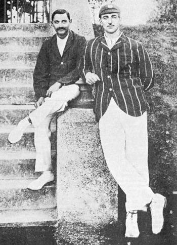 CB Fry and Kumar Ranjitsinhji