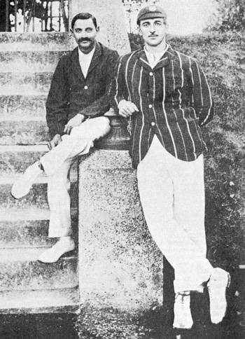 CB Fry and Kumar Ranjitsinhji
