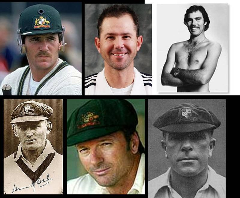 Two from six - Border, Ponting, G Chappell, McCabe, S Waugh or Macartney