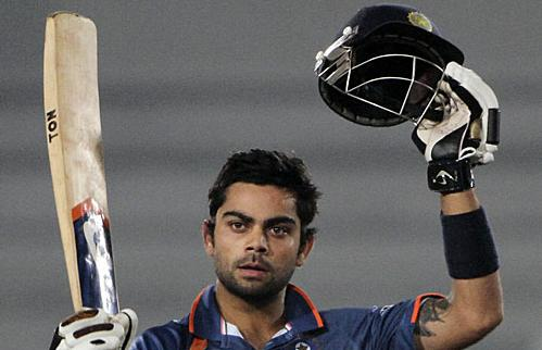 Virat Kohli - just one of India's many promising young batsmen