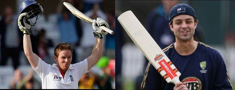 Eoin Morgan and Callum Ferguson - the men in waiting
