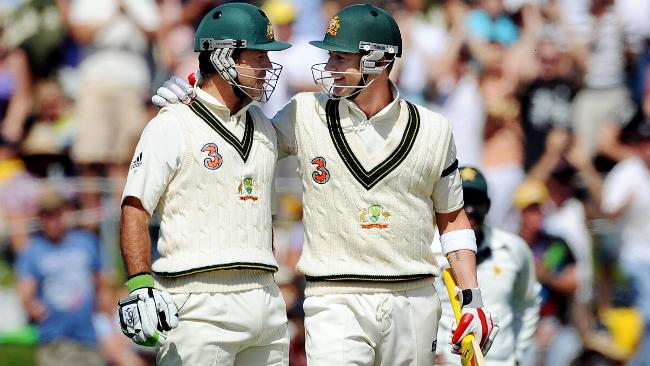 Ricky Ponting and Michael Clarke - the accession to the throne of the latter is now shrouded in tales of usurption