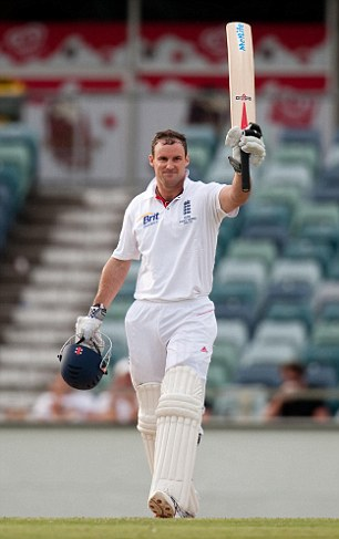 Andrew Strauss gets his tour off to the perfect start with a matchwinning hundred against Western Australia