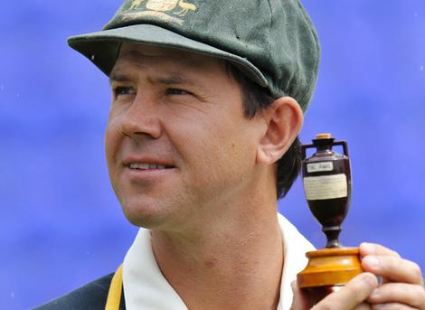 Will Ricky Ponting be holding the Ashes again come Sydney in January