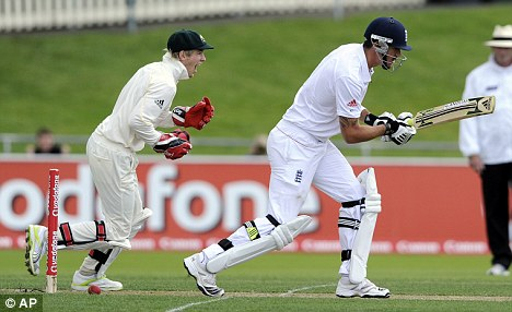 KP's nightmare strikes again as he is outfoxed yet again by a left arm spinner