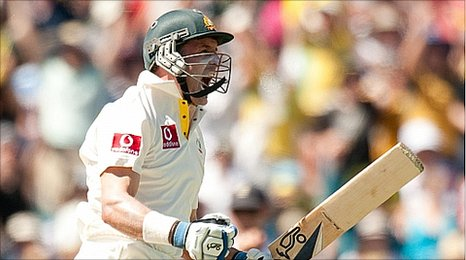 Mike Hussey - the thorn in England's side once again