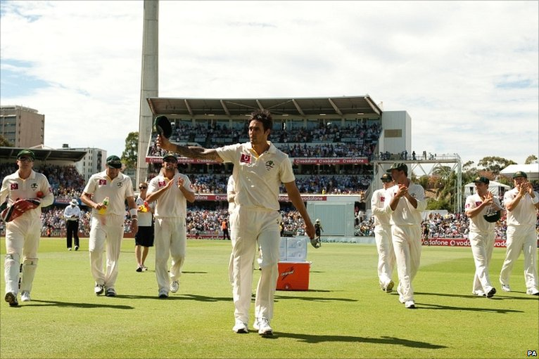 Mitchell Johnson - has his spell of 4 for 7 on the second morning changed the course of this series