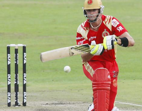 KP in Bangalore's colours but this year it will be Deccan and a huge pay cut
