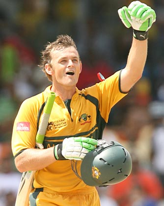 Adam Gilchrist - everyone else particularly England is forlornly searching for a Gilchrist clone