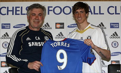 Fernando Torres - KP's not sure who he is