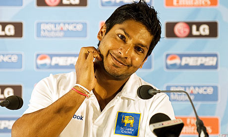 King Kumar Sangakkara - one of our XI to look out for in the World Cup