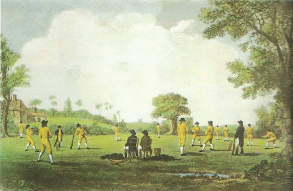 The real Hambledon Cricket Club - definitiely not located in Surrey
