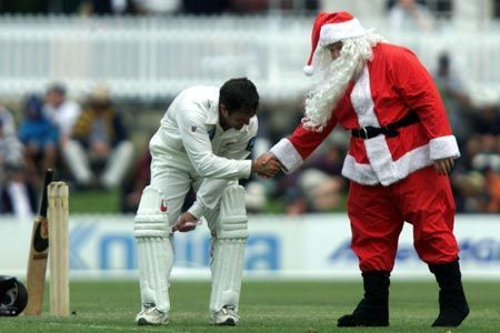Santa has a special sack of presents for cricketers this Christmas