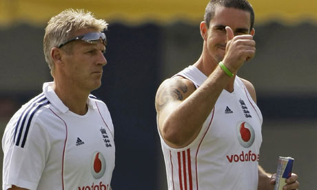 KP and Peter Moores - the start of KP's cunning plan that led to Ashes triumph