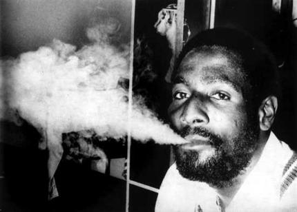 Viv Richards - his batting was so hot, it was smoking