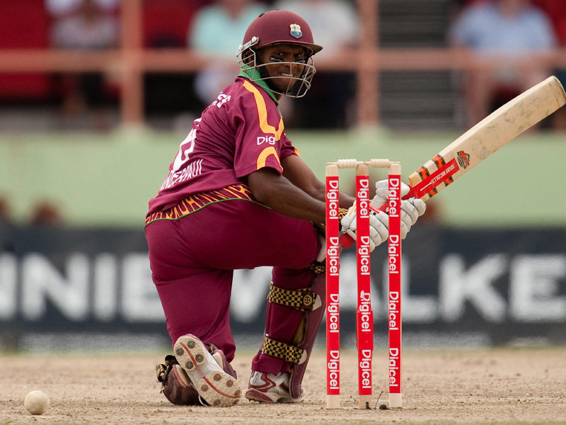 Shivnarine Chanderpaul - just what the West Indian batting line-up needs