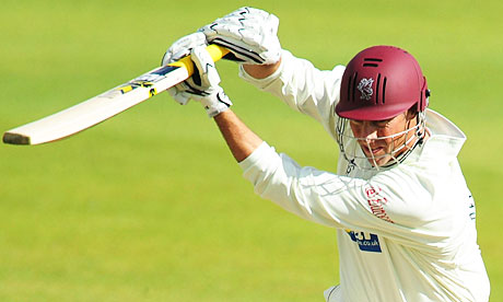 Marcus Trescothick will be scratching his head after presiding over a calamitous defeat against Warwickshire