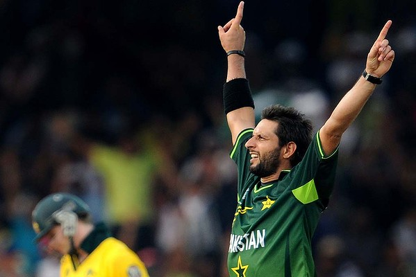 Shahid Afridi - leading wicket-taker and galvanising captain - who'd have thought that