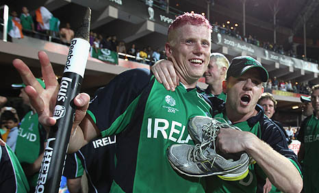 Kevin O'Brien won't have the chance to repeat his remarkable innings against England in 2015