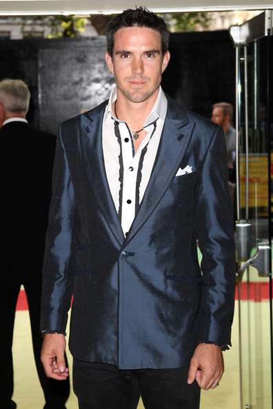 KP at the premiere of Fire In Babylon - check out that suit!