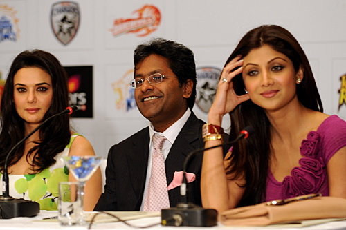 Lalit Modi - as well as being the cat who got the cream, is he the BCCI's Target X