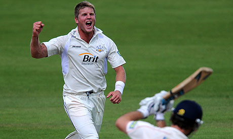 Stuart Meaker has taken wickets at an astonishing strike rate in the first half of the season