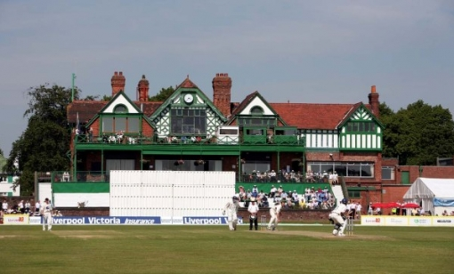Aigburth Cricket Ground - scene of the potentially Championship decider between Lancashire and Durham