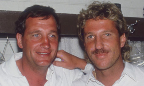 Ian Botham and some bloke who sent people to sleep with his bowling and broke the sporting ban TWICE to tour an Apartheid South Africa