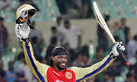 Chris Gayle shows the WICB what they are missing