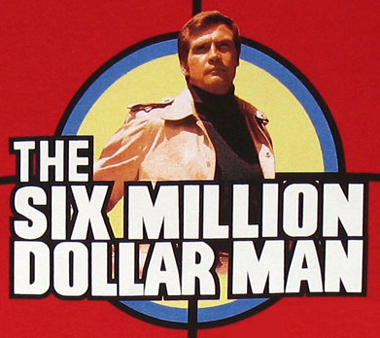 Graham Napier is the new Six Million Dollar Man