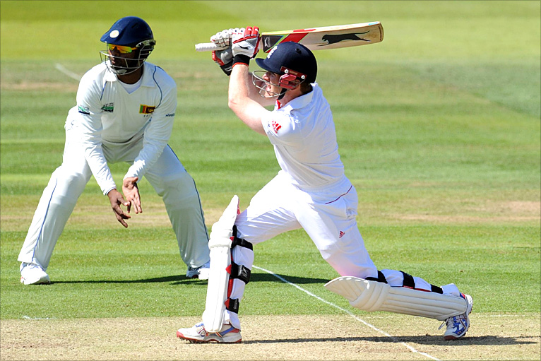 Eoin Morgan hits out at Lord's on day one of the Test with Sri Lanka