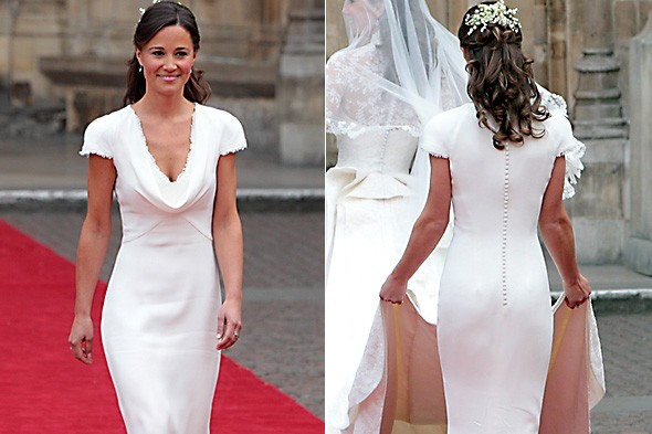 Pippa Middleton's derriere or Cook, Trott and Bell's stunning figures. You decide