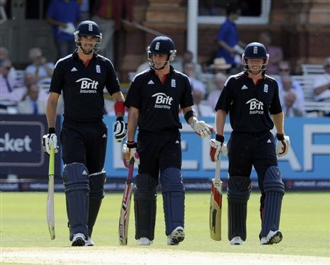 Having three batsmen on the field at the same time will become a thing of the past after the ICC went all health and safety on us