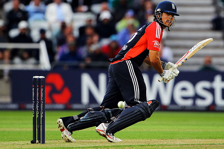 Alastair Cook's impersonation of Virender Sehwag was surprisingly convincing