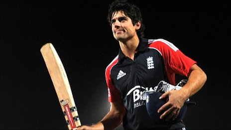 Alastair Cook - pushing for a place in England's T20 side