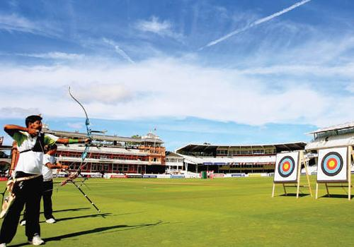Archery at Lord's with an interesting new twist