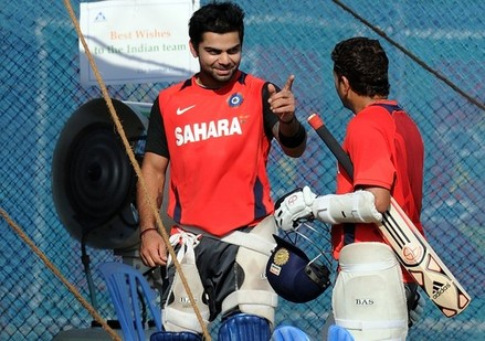 Virat Kohli and Sachin Tendulkar - the apprentice who should inherit the crown