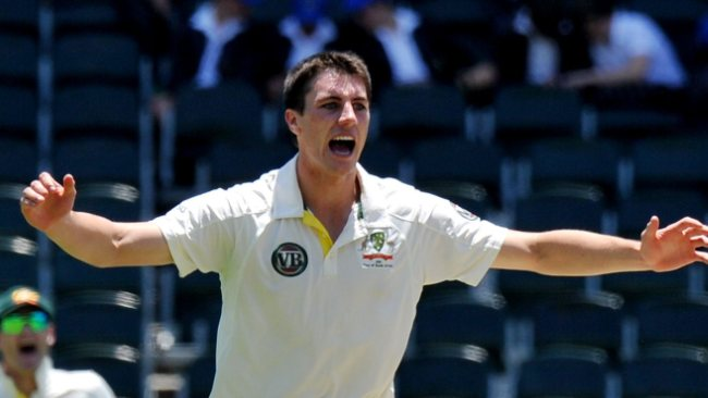 Patrick Cummins starred at the Wanderers on debut yesterday with 6 wickets