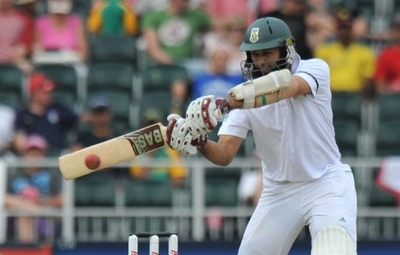 Hashim Amla's hundred looked to have set up South Africa for victory in Johannesburg