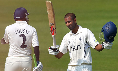 Varun Chopra - make mine a double, a second successive double hundred for the Warwickshire opener